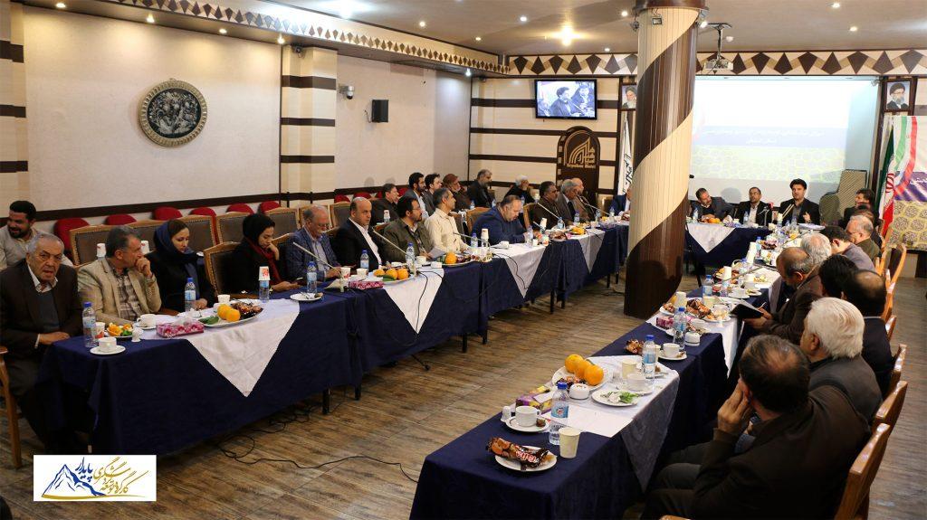دومین نشست شورای سیاستگذاری و توسعه گردشگری پایدار و صنایع دستی استان اصفهان